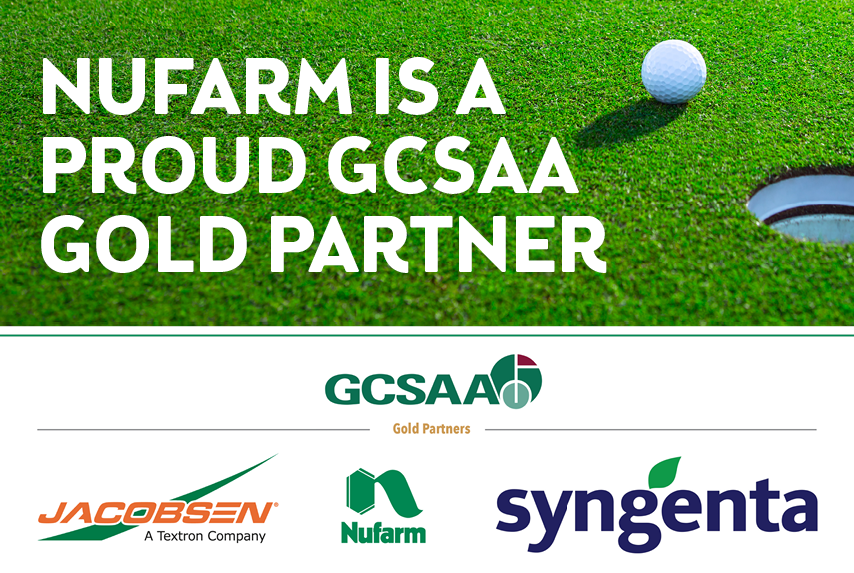 Nufarm attains Golf Course Superintendents Association of ...