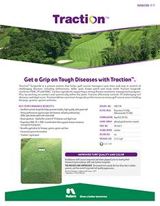 Traction Fungicide Brochure