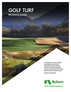 Nufarm Golf Turf Product Guide