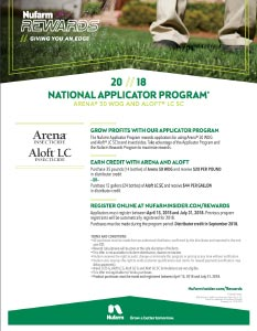 Nufarm Applicator Program 2018