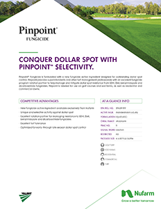 Pinpoint Fungicide Brochure